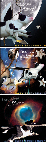CD artwork for The Moon Series of CDs